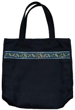 CWG09037 CWG 2009 cross-stitched tote bag
