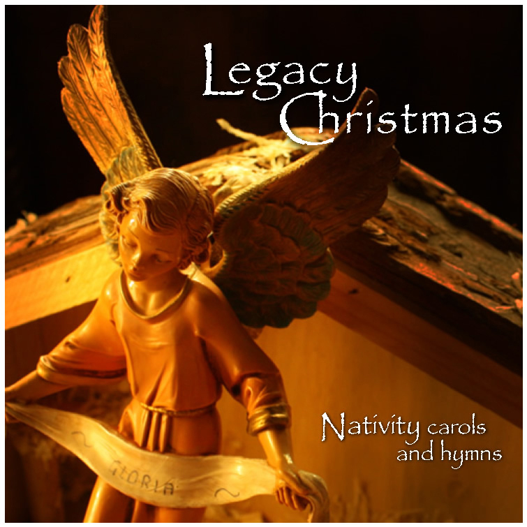 PWR16201 Legacy Christmas Nativity Cads and Hymns CD