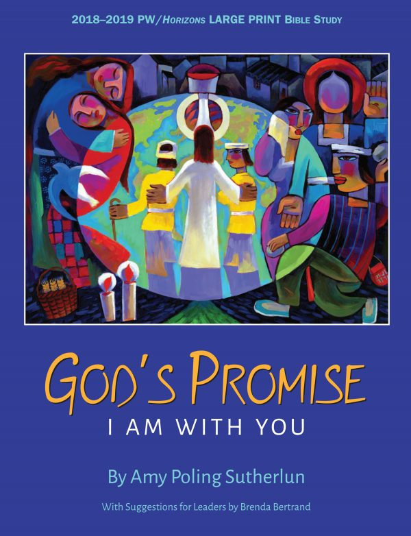HZN18150 God's Promise Large Print