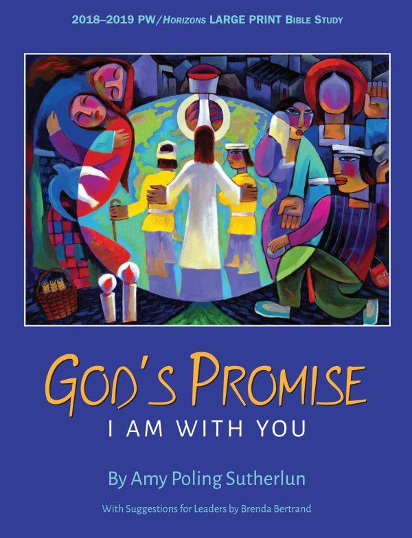 HZN18150 God's Promise Large Print