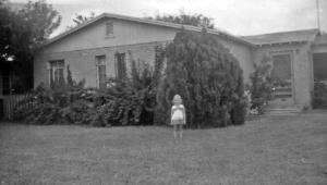 Joy Durrant as a child