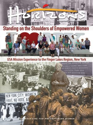 HZN19250 Standing of the Shoulders of Empowered Women - USA Mission Experience to the Finger Lakes Region, New York